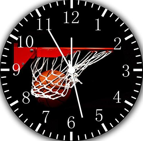 Baloncesto Reloj de pared 25,4cm Nice regalo y espacio pared Decor e189