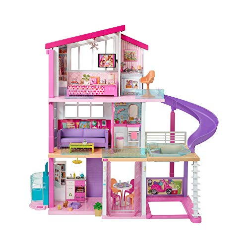 Barbie La casa de tus sueños, casa de muñecas (Mattel