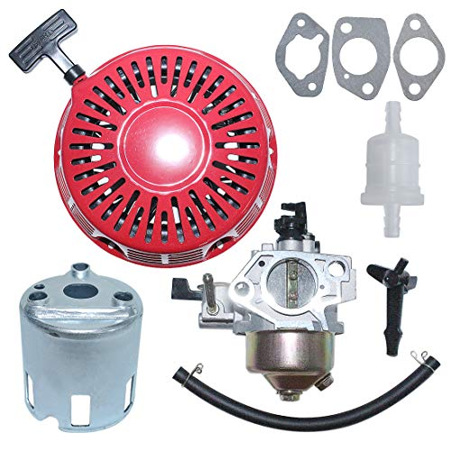 Best Buy! AUMEL Carburetor Recoil Starter Kit for Honda GX390 13HP Engine Replace 16100-ZF6-V01