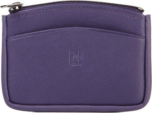 Gérard Henon Portamonete Softline Pelle di vacchetta liscia GH 33575 Viola Violet