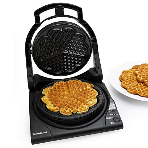 Chef'sChoice 840 WafflePro Taste / Texture Select Waffle Maker Traditional Five of...