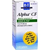 Boericke and Tafel Alpha CF - 120 Tablets pack of -6