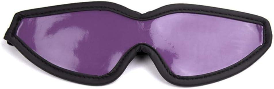 Zishine 2 Pcs 2021 Blindfold Sexy Gorgeous Purple Elastic Toys Leather Bright