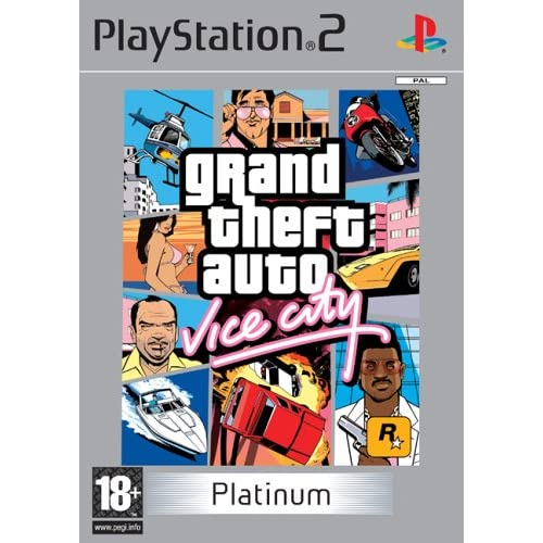 Grand Theft Auto: Vice City - Platinum (versione inglese)