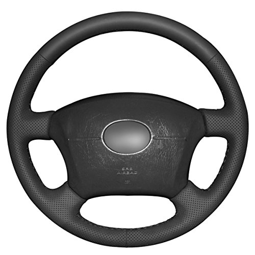 Genuine Leather Steering Wheel Cover for 2005-2011 Toyota Tacoma /2003-2009 4Runner /2004-2010...
