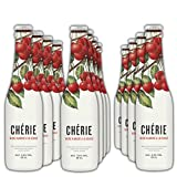 Chérie - Cerveza de Trigo con Sabor Cereza - Pack 12 Unidades 33 cl