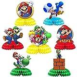 Super Mario Figuren Kuchendekorationen, 7PCS Mario