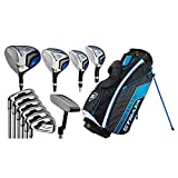 Callaway Golf Men's Strata Ultimate Complete Golf Set (16-Piece, Left Hand, Steel) Blue