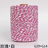 280 M Raffia Straw Gold Line Yarn Crochet Yarn para DIY Knitting Straw Hat Bolsos Cojines Hand Knitting Yarn, G29G14