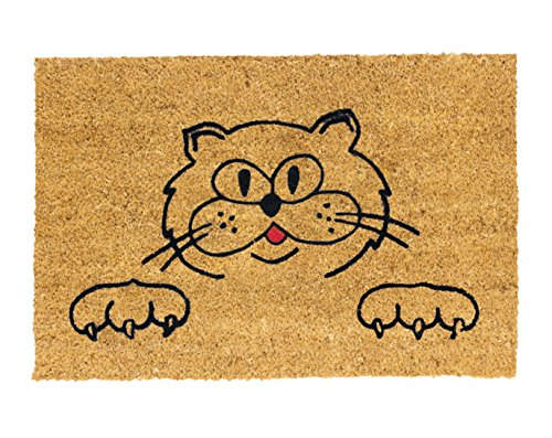 Betz Kokosmatte Fußmatte Fußabstreifer Schmutzfangmatte KATZE Größe 40x60cm