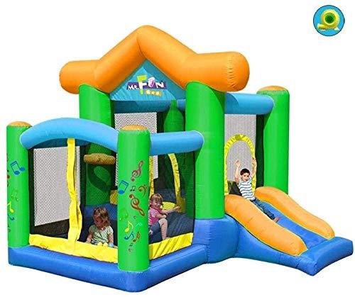 NoneBrand Pool Haustyp Kinderrutsche Aufblasbare Burg Und Rutsche Spielplatz Im Freien Domestic Square Trampolin Kindergarten Naughty Castle Kinder