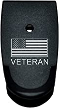 BASTION Extended Magazine Base Plate, Butt Plate for Smith & Wesson M&P 9/40 Shield - Veteran