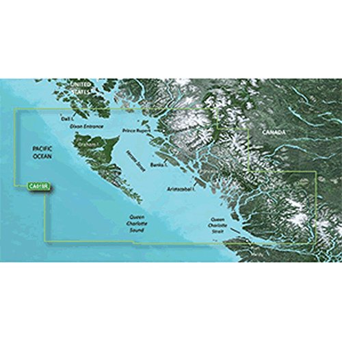%10 OFF! Garmin BlueChart g2 Vision - VCA019R - Hecate Strait - microSD/SD