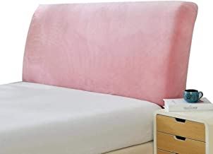 Bedside cover High Elasticity Upholstered Headboard Cover, All-inclusive Solid Color Fabric Bed Backrest Protector Decorat...
