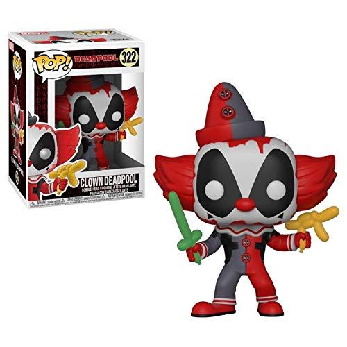 Figura Pop Marvel Deadpool Parody Deadpool Clown