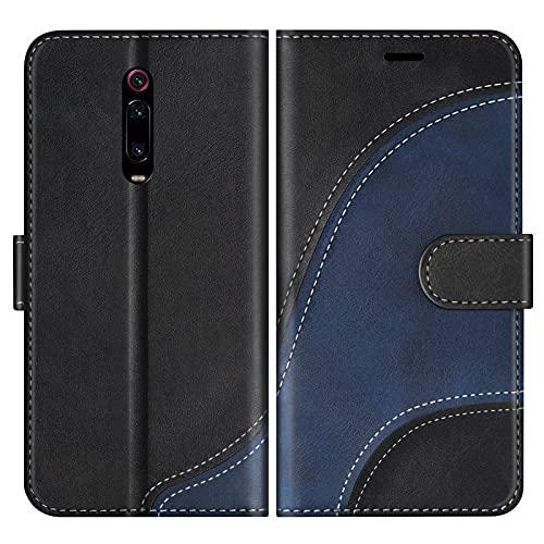 BoxTii Hülle für Xiaomi MI 9T / MI 9T Pro/Redmi K20 / Redmi K20 Pro, Leder Handyhülle für Xiaomi MI 9T / Redmi K20, Ledertasche Klapphülle Schutzhülle mit Kartenfächer & Magnetverschluss, Schwarz