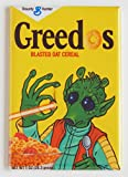 Star Wars'Greedo Cereal Box' Fridge Magnet (2 x 3 inches)