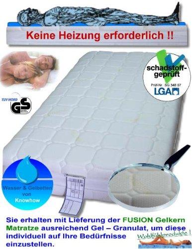 Firma Knowhow FUSION Gelkern Matratze 140 x 200 Gelmatratze Bett