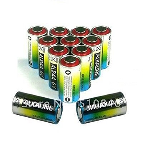 Lot de 10, 20, 30, 40 ou 50 Piles Alcaline 4LR44 6V 476A Pour Collier Chien Antiaboiement Dressage (Lot de 10)