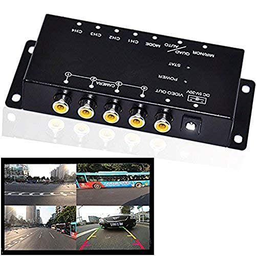 Auto Wayfeng WF® IR Control 4 Cámaras Cámaras Coche Imagen Interruptor de Control de vídeo de TV Caja para Izquierda...