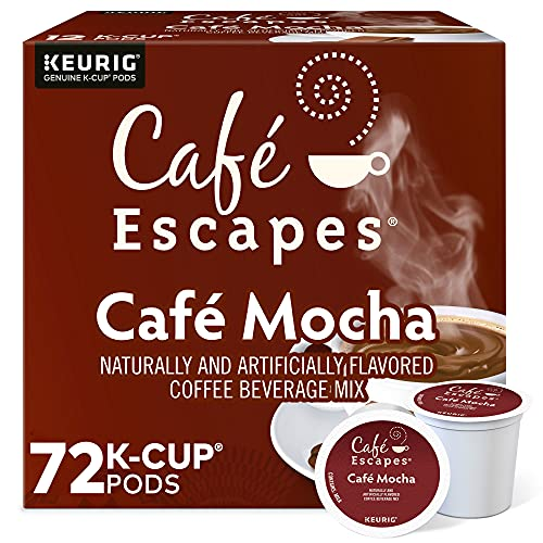 Cafe Escapes, Cafe Mocha Coffee Beverage,...