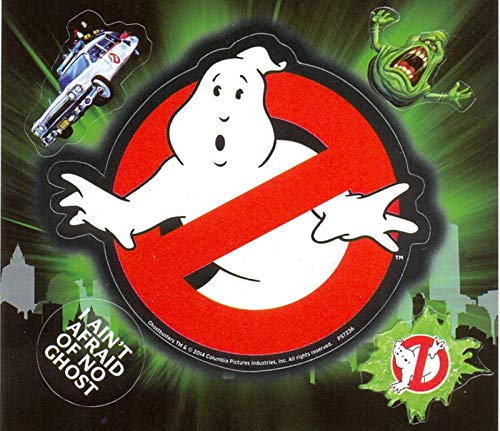 Ghostbusters AFPS7236 Vinyl-Aufkleber, Papier, Mehrfarbig, 10 x 12.5 cm