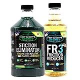 Hot Shot's Secret Signature Series Oil Pack (1) 64oz Stiction Eliminator and (1) 32oz FR3 (SSOP)