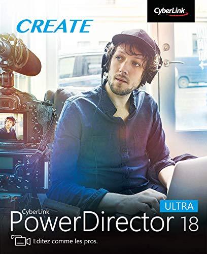 CyberLink PowerDirector 18 Ultra | PC | Code d'activation PC - envoi par email