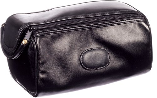 Danielle Milano Men's Twin Zip Toiletry Bag