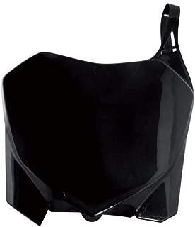 ACERBIS NUMBER PLATE BLACK SUZUKI RM/RMZ-125/250/450