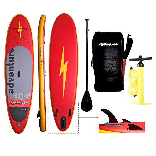Kit Stand Up Inflável Lightning Bolt Explorer 10,6 pes