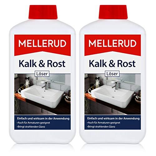 2x Mellerud Kalk und Rost Löser 500 ml - Kraftvolle Reinigung