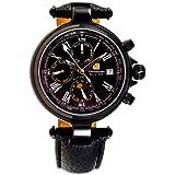 Steinhausen Men's SW381LL Classic Calendar Black Watch