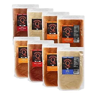 Kosmo's Q BBQ Rub - Barbecue Rub - Dry Rub / GLUTEN FREE - NO MSG
