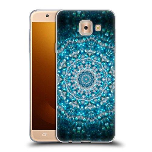 Head Case Designs Oficial Monika Strigel Luca Marina Mandala Carcasa de Gel de Silicona Compatible con Samsung Galaxy J7 MAX