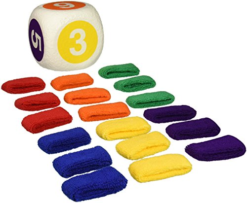 Scatterball Game, Set of 18 Color Coded Wristbands, 1 Scatterball and Game Rules - 018175