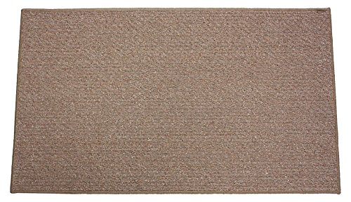 J&M Home Fashions Fashionable Non-Skid Area Rug, 26x48, Natural