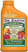 Dr. Earth 1014 Premium Gold Organic All-Purpose Fertilizer, 24-Ounce