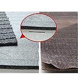 Moozic Küchenteppich -rutschfest Teppichläufer – Waschbar Küchenläufer – Pflegeleichte Teppich Küche – Vorleger Teppich – 40 x 120 cm / 40 x 60 cm 2 Stück,Braun - 5