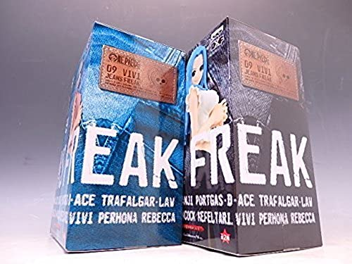 One Piece Jeans Freak Vol.9 Nefertari Vivi 2figures Complete Set Banpresto Japan by Jeans Freak