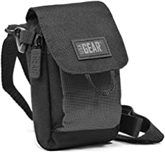 USA Gear Camera Case Compatible with Olympus Tough TG-4, TG-870, Stylus SH-3 and More - Accessory Pocket, Adjustable Shoulder Strap, Weather Resistant Exterior, and Holster Belt Loop