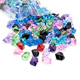 Royal Imports Acrylic Gems Ice Crystal Rocks for Vase Fillers, Party Table Scatter, Wedding, Photography, Party Decoration, Crafts, 3 LBS (Approx 580-600 gems) - Mixed Colors