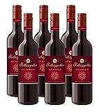 Rotkäppchen Qualitätswein Glühwein Rot (6 x 0,75l) – Aromatisch-winterlicher, roter Glühwein in erlesener Rotkäppchen Qualitätswein Qualität.