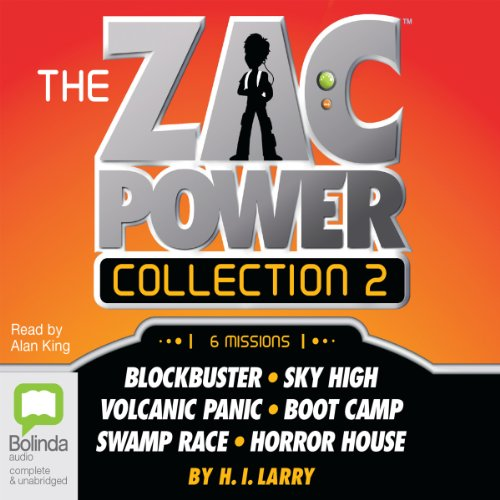 The Zac Power Collection 2 audiobook cover art