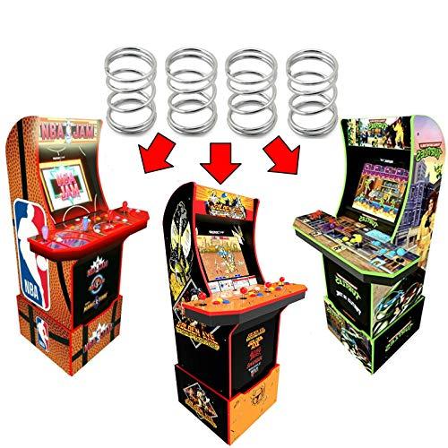 Alvatron Set of 4 Joystick 6lb Tension Springs for Arcade1up, AtGames Legends Ultimate Arcade, Pandora