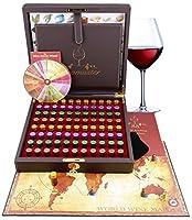 kit maestro aromi del vino - 88 aromi (inc. ruota degli aromi del vino)