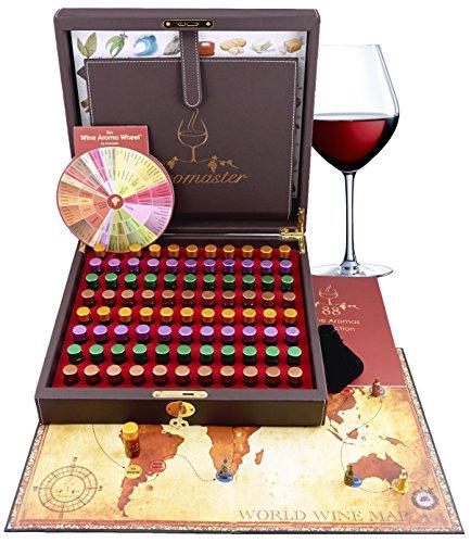 Master Wein-Aroma-Set (88 Weinaromen)