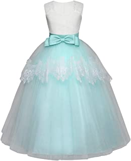 Vestiti Verde Tiffany Bambina.Amazon It Comunione Vestiti Verde