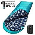 Bessport Sleeping Bag Winter | 32?/0? Extreme 3-4 Season Warm & Cool Weather Adult Sleeping Bags Large | Lightweight, Waterproof for Camping, Backpacking, Hiking