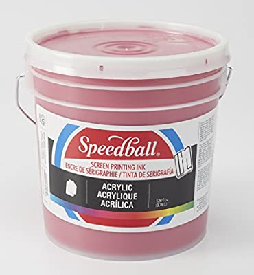 Speedball 004660 Acrylic Acrylic Screen Printing Ink, 32 fl. oz, White